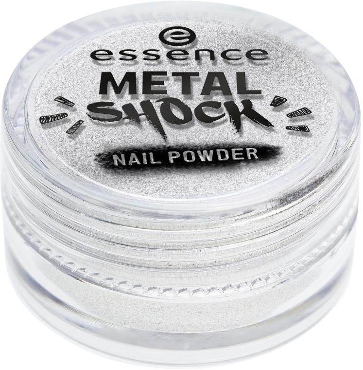Metaliczny puder do paznokci - Essence Metal Shock Rainbow Nail Powder — фото N3