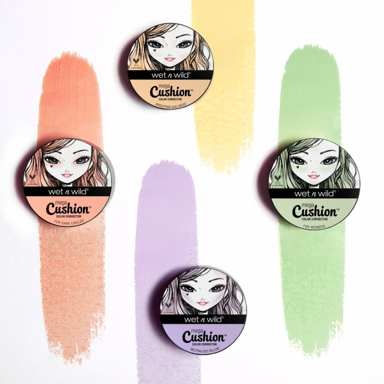 Kolorowy korektor w gąbce cushion do twarzy - Wet N Wild MegaCushion Color Corrector — фото N4