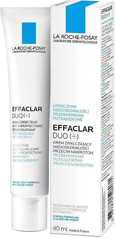Krem korekcyjny do walki z niedoskonałościami skóry - La Roche-Posay Effaclar Duo+ — фото N5