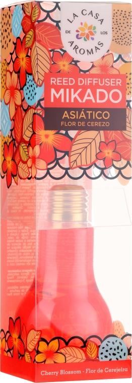 Dyfuzor zapachowy Kwiat wiśni - La Casa de Los Aromas Mikado Reed Diffuser — фото N1
