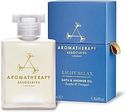 Kup Lekki, relaksujący olejek pod prysznic i do kąpieli - Aromatherapy Associates Light Relax Bath & Shower Oil