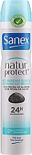 Kup Antyperspirant Niewidzialna ochrona - Sanex Natur Protect 0% Antimanchas Deo Spray