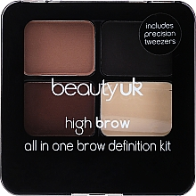 Kup Zestaw do modelowania brwi - Beauty UK High Brow and Eyebrow Kit