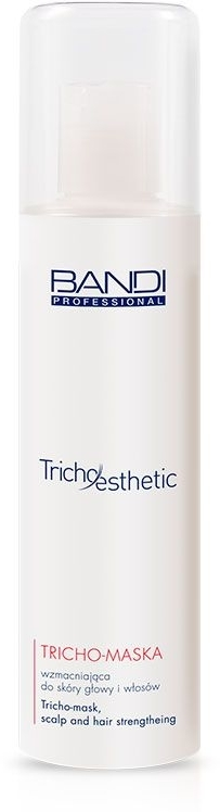 Tricho-maska wzmacniająca dla skóry głowy i włosów - Bandi Professional Tricho Esthetic Tricho-Mask Scalp And Hair Strengthening