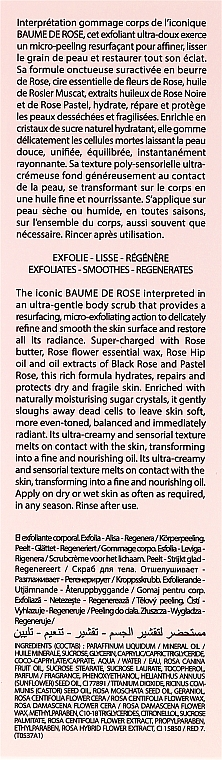 Peeling do ciała - By Terry Baume De Rose Body Scrub — фото N3