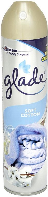 Odświeżacz powietrza - Glade Soft Cotton Air Freshener — фото N1
