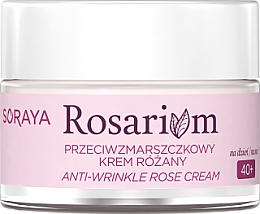 Kup Przeciwzmarszczkowy krem różany do twarzy - Soraya Rosarium Anti-wrinkle Rose Cream 40+