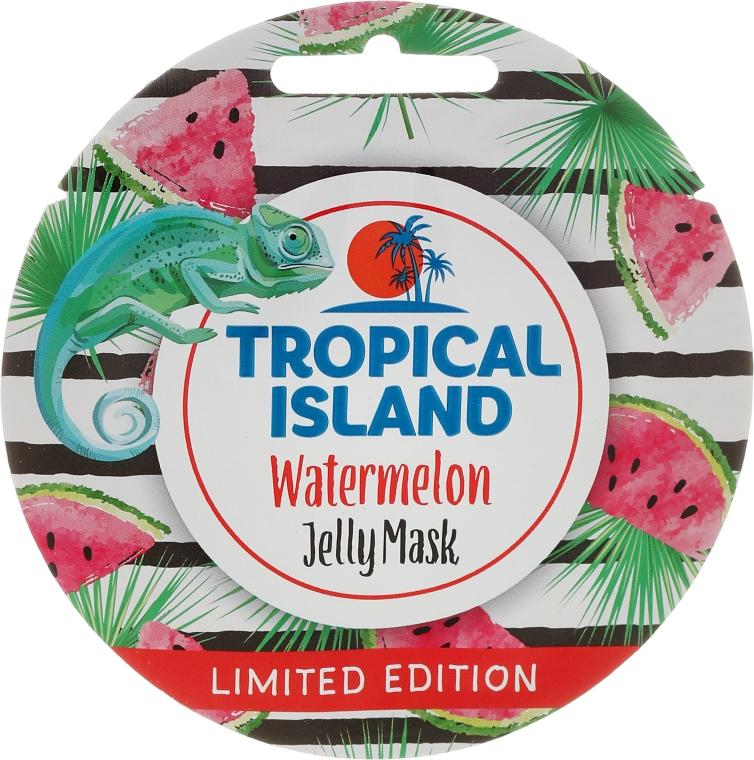 Żelowa maska do twarzy Arbuz - Marion Tropical Island Watermelon Jelly Mask