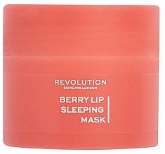 Kup Maska na noc do ust - Revolution Skincare Berry Lip Sleeping Mask