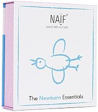 Kup PRZECENA! Zestaw do pielęgnacji ciała noworodka - Naif Newborn Essentials (b/oil 100 ml + b/cr 75 ml + b/oil 100 ml) *