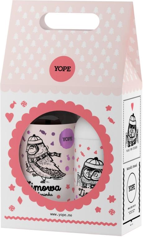 Zestaw do pielęgnacji ciała - Yope Zimowa bombonierka (b/balm 300 ml + l/soap 500 ml)