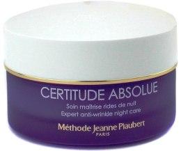 Kup Odżywczy krem aktywnie wygładzający na noc - Méthode Jeanne Piaubert Certitude Absolue Expert Anti-Wrinkle Night Care