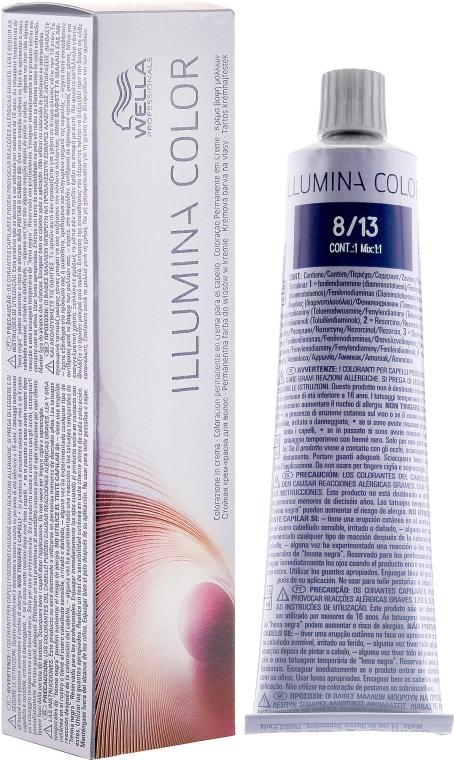 Profesjonalny krem koloryzujący z technologią odbijającą światło - Wella Professionals Illumina Color
