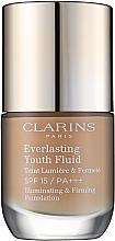 Kup Trwały podkład matujący o odmładzającym działaniu SPF 15 - Clarins Everlasting Youth Fluid