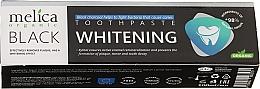 Kup Czarna pasta wybielająca do zębów - Melica Organic Toothpaste Whitening Black