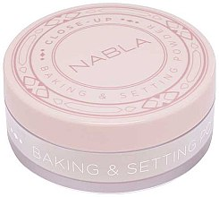 Kup Sypki puder wypiekany - Nabla Close-Up Baking Setting Powder