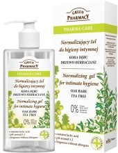Kup Normalizujący żel do higieny intymnej Kora dębu i drzewo herbaciane - Green Pharmacy Normalizing Gel