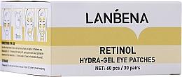 Kup Hydrożelowe płatki pod oczy z kolagenem i retinolem - Lanbena Retinol Collagen Hydra-Gel Eye Patch