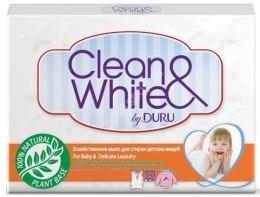 Kup Szare mydło do prania dziecięcych rzeczy w ekonomicznym opakowaniu - Clean&White By Duru