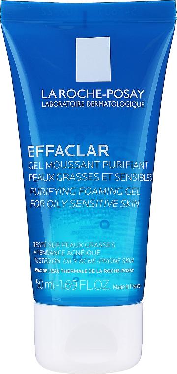 Oczyszczający żel do skóry tłustej i wrażliwej - La Roche-Posay Effaclar Gel Moussant Purifiant — фото N1