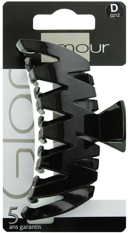 Spinka do włosów, 0212, czarna - Glamour