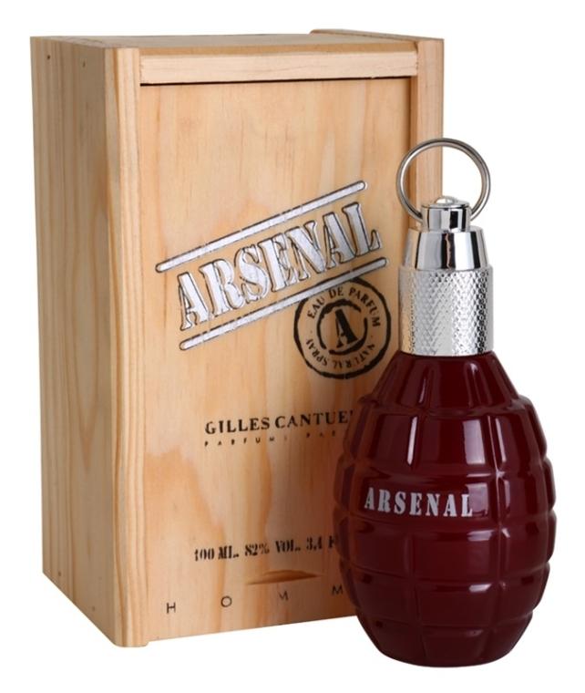 Gilles Cantuel Arsenal Red - Woda perfumowana — фото N2