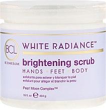 Kup Rozjaśniający scrub do rąk, stóp i ciała - BCL Spa White Radiance Brightening Scrub