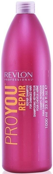 Odbudowujący szampon do włosów zniszczonych - Revlon Professional ProYou Repair Shampoo