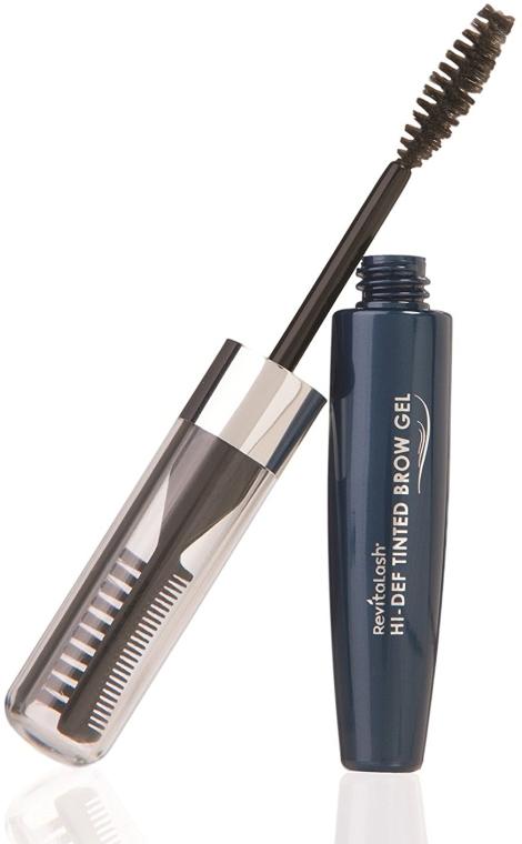 Modelujący żel do brwi - Revitalash Hi-Def Tinted Brow Gel — фото N2