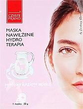Kup Maseczka z proteinami koziego mleka Nawilżenie i hydroterapia - Czyste Piekno Hydro Therapia Face Mask