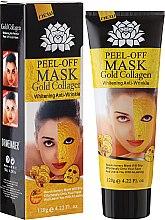 Kup Kolagenowa maska ze złotem peel-off - Pilaten Peel-Off Mask Gold Collagen Whitening Anti-Wrinkle