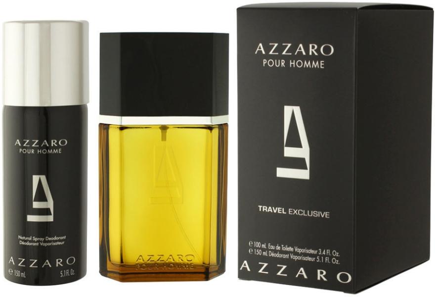 Azzaro Pour Homme Travel - Zestaw (edt/100ml + deo/150ml)  — фото N1