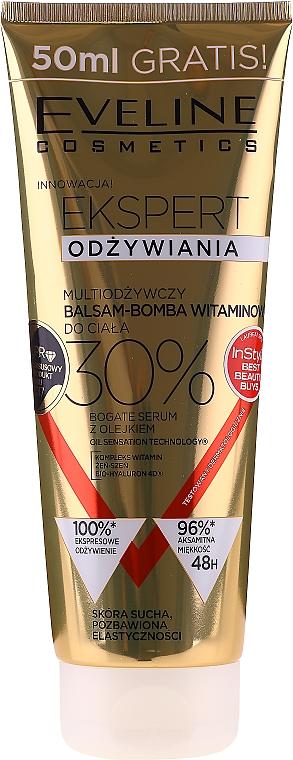 Multiodżywczy balsam-bomba witaminowa do ciała Ekspert odżywiania - Eveline Cosmetics