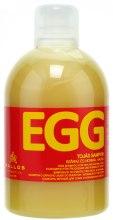 Kup Szampon jajeczny do włosów suchych i normalnych - Kallos Cosmetics Egg Shampoo