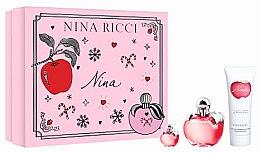 Kup Nina Ricci Nina - Zestaw (edt 50 ml + b/lot 75 ml + edt 4 ml)