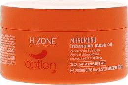Kup Intensywna maska do włosów zniszczonych - H.Zone Option Murumuru Intensive Mask Oil