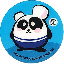 Kup Krem BB w gąbce cushion - Dr. Mola 3rd Generation BB Cushion Panda