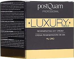 Kup Regenerujący krem do twarzy ze złotem na dzień - PostQuam Luxury Gold Regenerating Day Cream