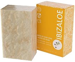 Kup Mydło w kostce z oliwą z oliwek - Ibizaloe Aloe Vera Soap Olive Oil