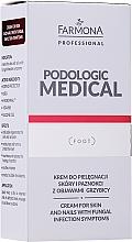 Kup Krem do pielęgnacji skóry i paznokci z objawami grzybicy - Farmona Professional Podologic Medical Cream For Skin With Fungal Infection Symptoms