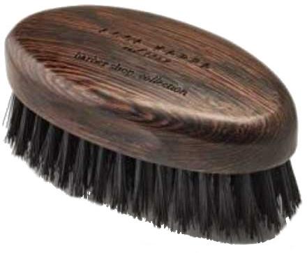 Szczotka do brody z czarnym włosiem - Acca Kappa Barber Shop Collection — фото N1