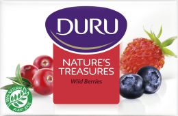 Kup Nawilżające kremowe mydło do mycia Owoce leśne - Duru Natures Treasures