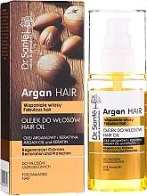 Kup Olejek do włosów Olej arganowy i keratyna - Dr. Sante Argan Hair