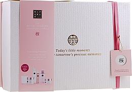 Kup Zestaw do pielęgnacji ciała - Rituals The Ritual of Sakura Ceremony XL (b/scrub/250ml + sh/gel 200 ml + b/cr 200 ml + soap 300 ml + b/mist 50 ml + candle 290 g)