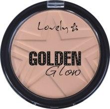 Kup Naturalny puder hipoalergiczny w kompakcie do konturowania twarzy - Lovely Golden Glow