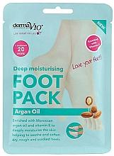 Kup Zmiękczająca maska do stóp - Derma V10 Foot Mask Argan Oil