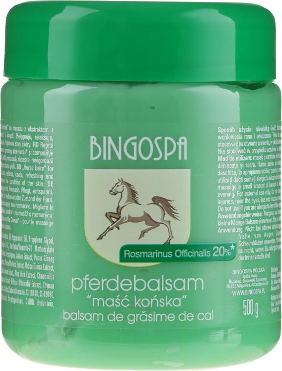 Maść końska z rozmarynem - BingoSpa Ointment Horse With Rosemary