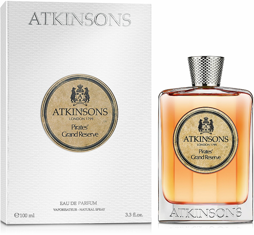 Atkinsons Pirates' Grand Reserve - Woda perfumowana — фото N2
