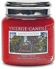 Kup Świeca zapachowa w słoiku - Village Candle Apple Wood