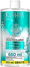 Kup Matujący płyn micelarny 3 w 1 - Eveline Cosmetics Facemed +